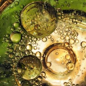 burbujas aceite