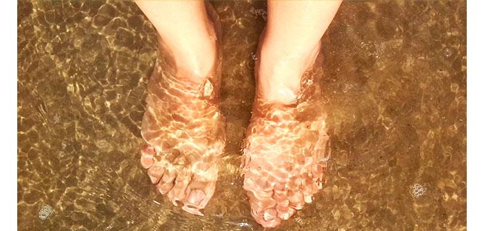 Exfoliante casero para pies