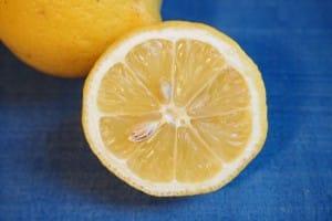 limón para oxido