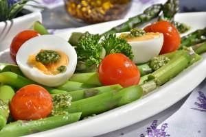 Huevos en ensalada