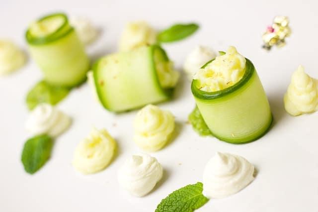 Pepino y yogur