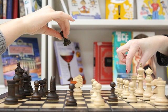 Ejercitar la mente con ajedrez