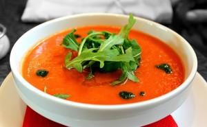 Sopa de tomate fría, gazpacho