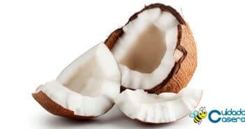 Exfoliante casero de coco